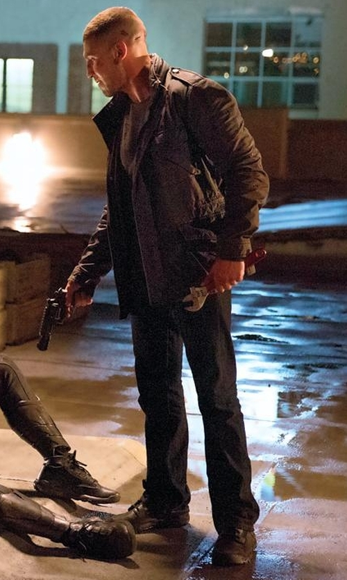 Jon Bernthal with Adidas Outdoor AX 2 Sneakers in Daredevil