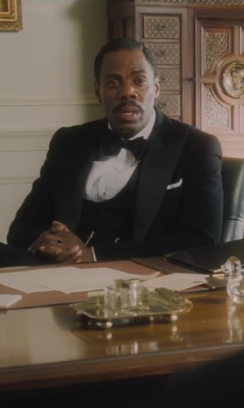 Colman Domingo with J.Crew Ludlow Wing-Collar Tuxedo Shirt in Lee Daniels' The Butler