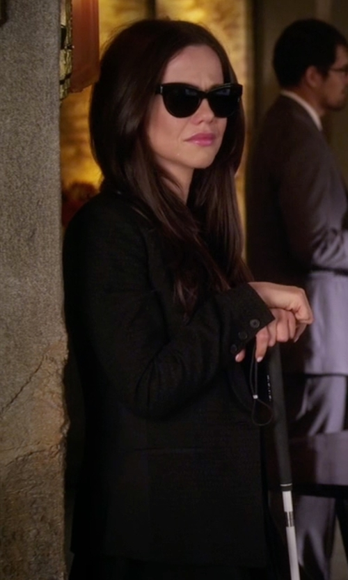 Tammin Sursok with American Vintage Holiester Blazer in Pretty Little Liars