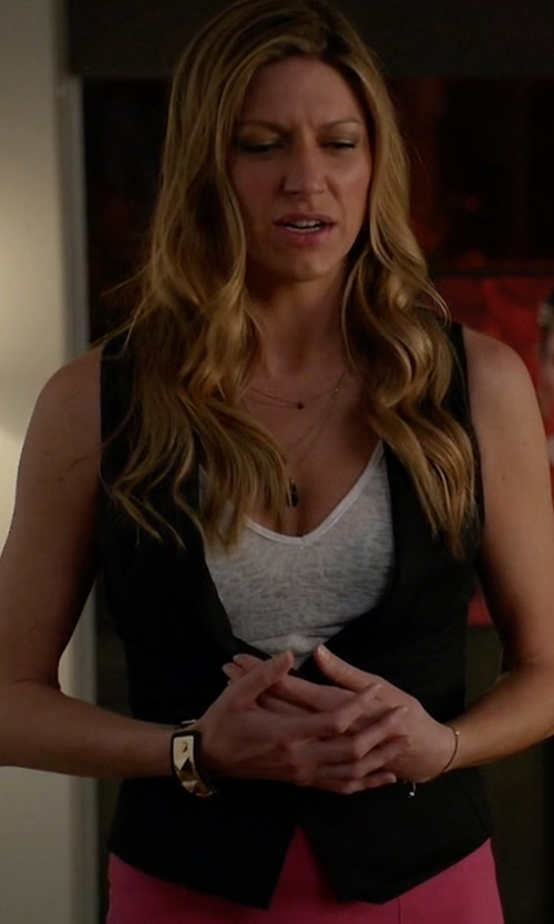Jes Macallan with Ted Baker Zamiaw Floral  Vest in Mistresses