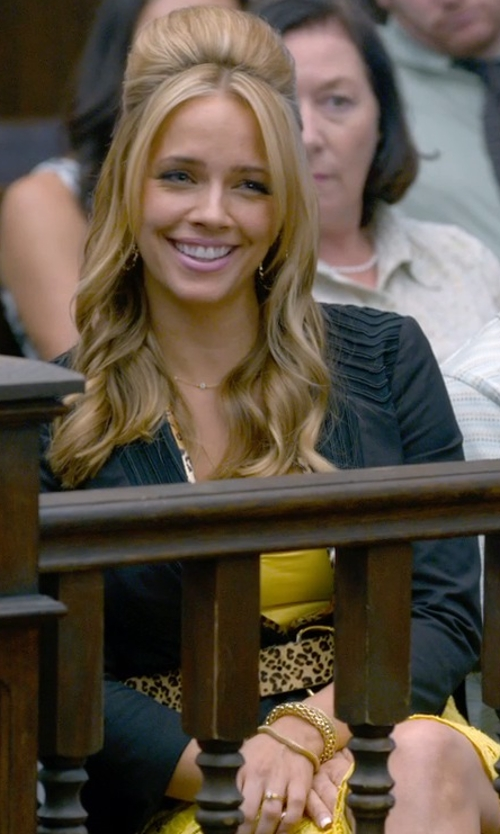 Jessica Barth with Prime Pristine Weaved Italian Bracelet in Ted 2