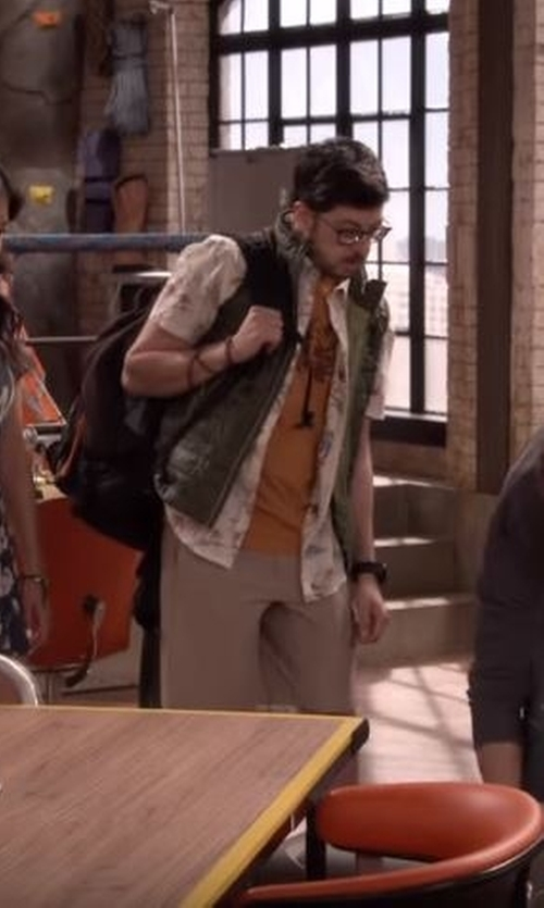 Christopher Mintz-Plasse with Carhartt  Gilliam Vest in The Great Indoors