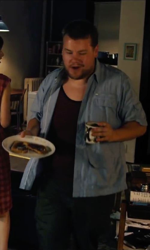 James Corden with Match Convivio Dinner Plate in Begin Again