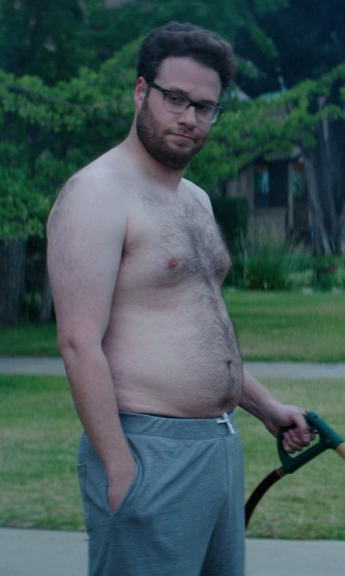 Seth Rogen with J. Lindeberg Percy Easy Sweat Shorts in Neighbors