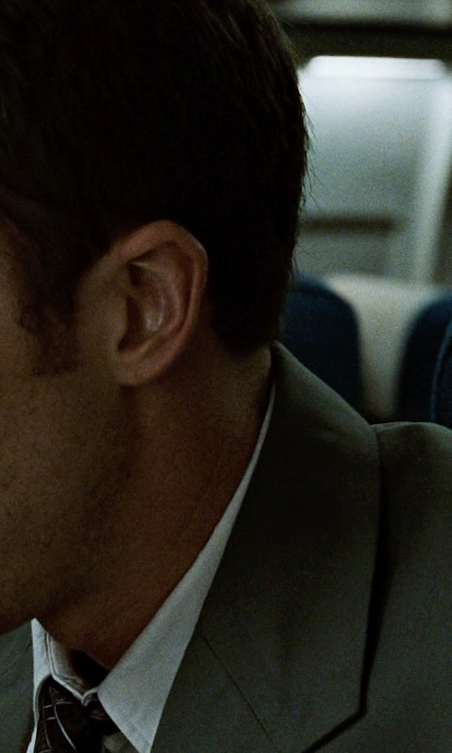 Edward Norton with Report Sharkskin Wool Blend Suit Separates Jacket in Fight Club