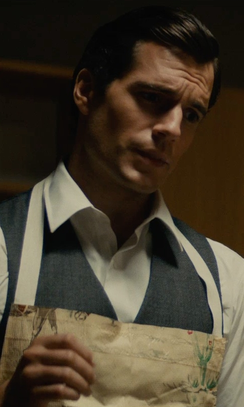 Henry Cavill with Joe's USA Chef Aprons in The Man from U.N.C.L.E.