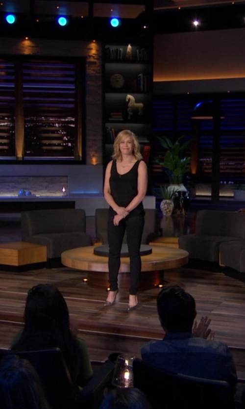 Chelsea Handler with Barneys New York Viola Pumps in Chelsea