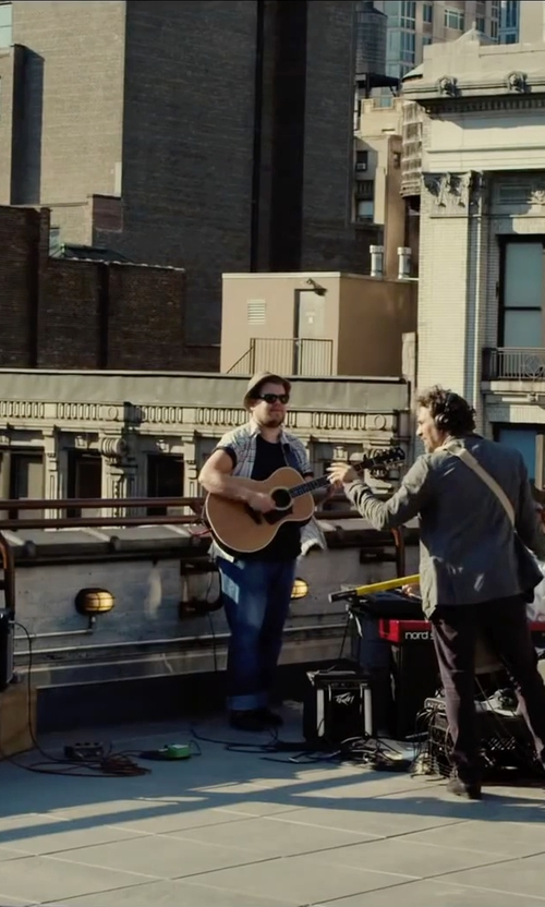 James Corden with Sunspel Cotton Crewneck T-Shirt in Begin Again