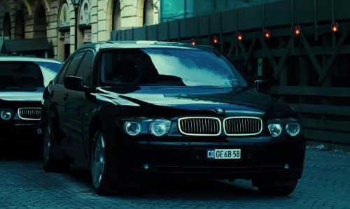 Unknown Actor with BMW 7 Series in A Good Day to Die Hard