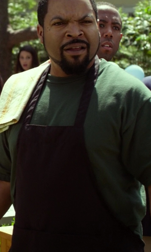 Ice Cube with Chef Works F35 Cross-Back Bib Apron, Black in Ride Along