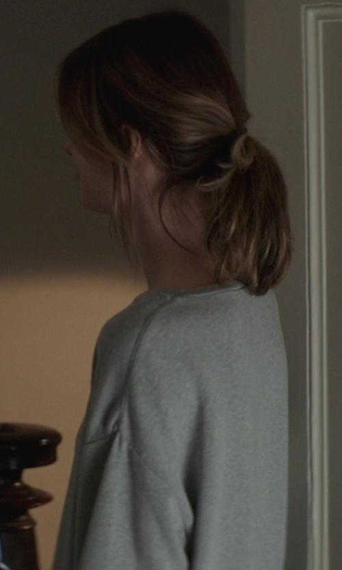 Mackenzie Davis with Vince Boat- Neck Cashmere Sweater in That Awkward Moment