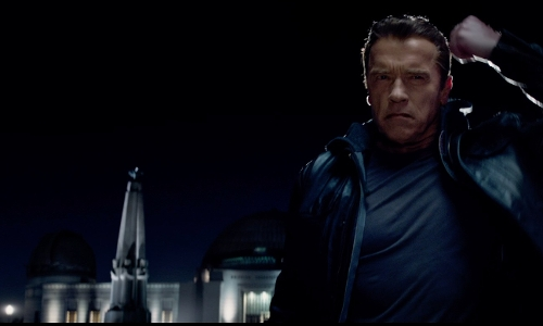 Unknown Actor with Griffith Observatory Los Angeles, California in Terminator: Genisys