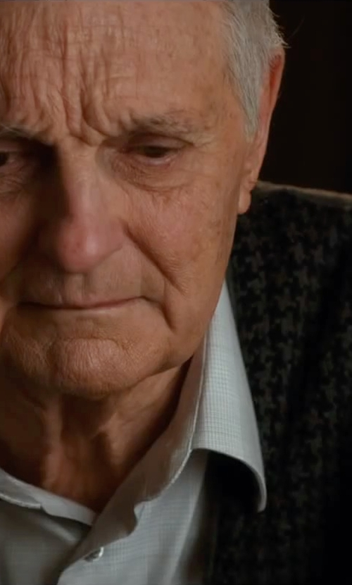Alan Alda with Paul Smith London Slim Fit Cotton Shirt in The Longest Ride