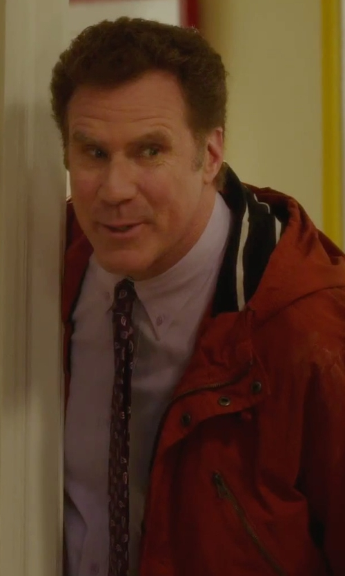 Will Ferrell with John Varvatos Star USA Spread Collar Dress Shirt in Daddy's Home