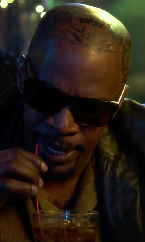 Jamie Foxx with Dragon Alliance Viceroy Polarized Square Sunglasses in Horrible Bosses 2