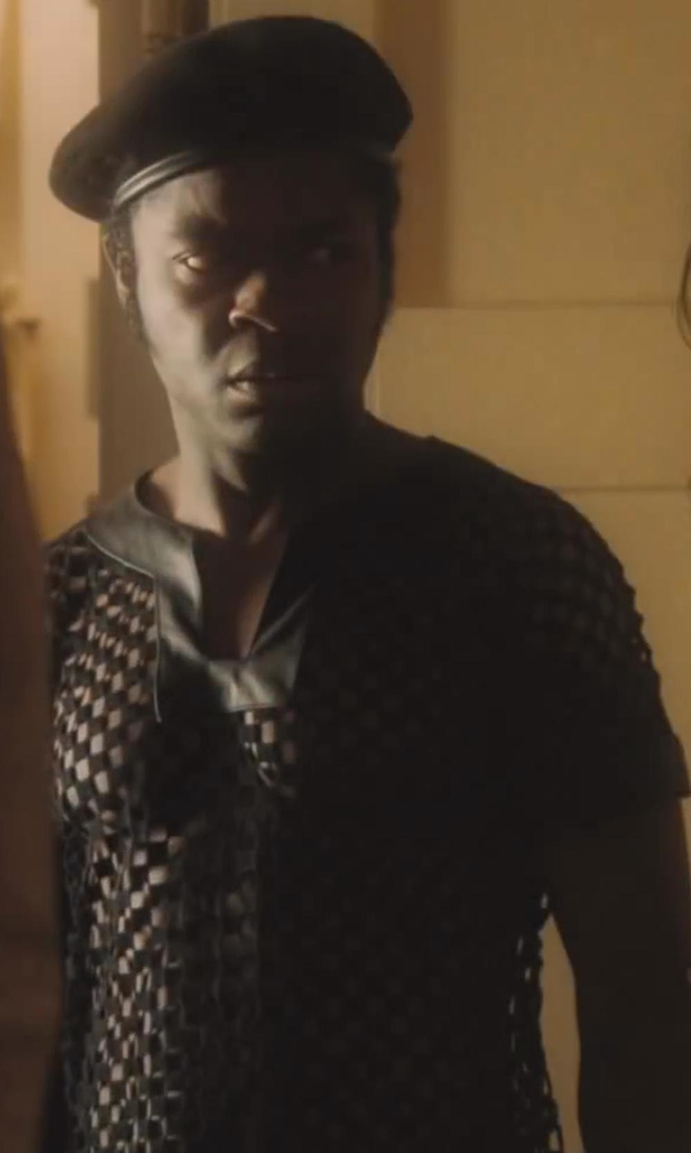David Oyelowo with American Apparel Poly Mesh Athletic T-Shirt in Lee Daniels' The Butler