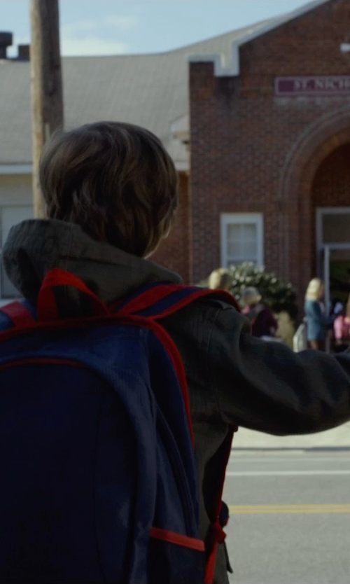 Jacob Tremblay with Vans Boys Core Basic Zip Hoodie in Before I Wake