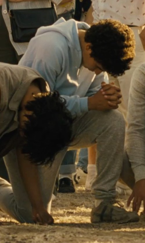 Hector Duran with Puma Men's Knit Pants in McFarland, USA