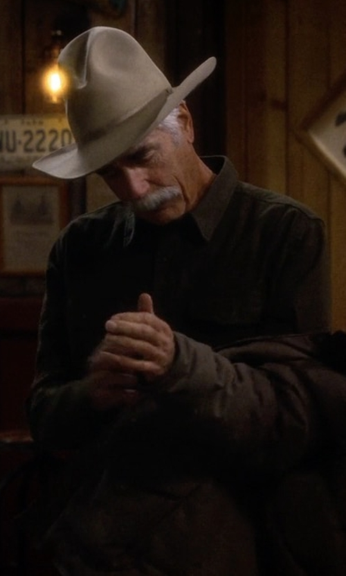 Sam Elliott with Brixton Ranger II Hat in The Ranch