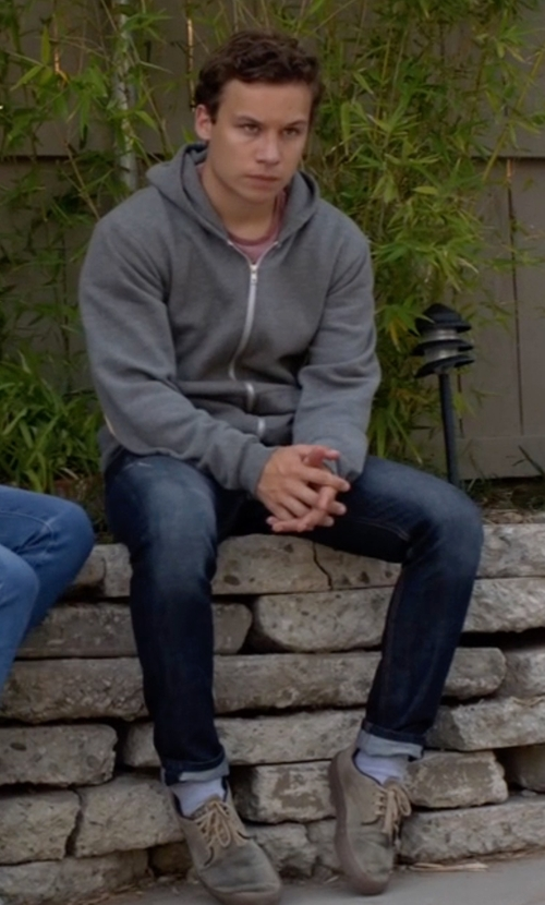 Finn Cole with Vans Era 59 Mono T&L Sneakers in Animal Kingdom