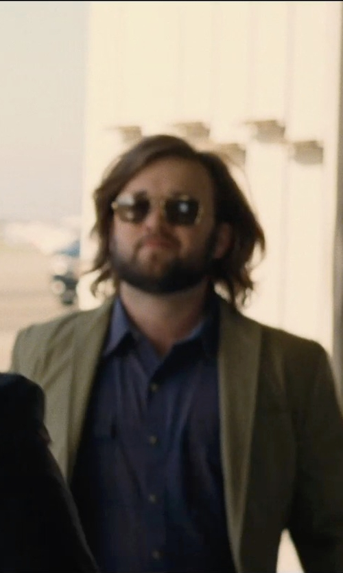Haley Joel Osment with Randolph Aviator Square Sunglasses in Entourage