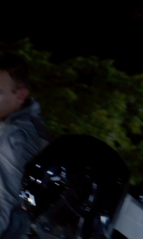 Unknown Actor with O'Neal Fastrack II Motorcycle Helmet with Bluetooth Technology in The Giver