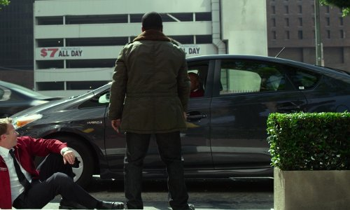 Ice Cube with Toyota Prius in Ride Along