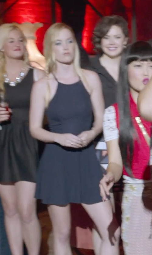 Kelley Jakle with T By Alexander Wang Bodycon Tank Dress in Pitch Perfect 2