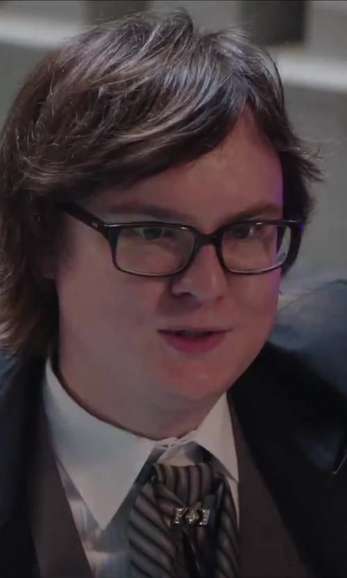 Clark Duke with John W. Nordstrom Classic Fit Tuxedo Shirt in Hot Tub Time Machine 2