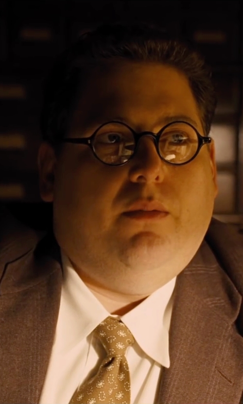 Jonah Hill with Piovino Prescription Eye Glasses in Hail, Caesar!