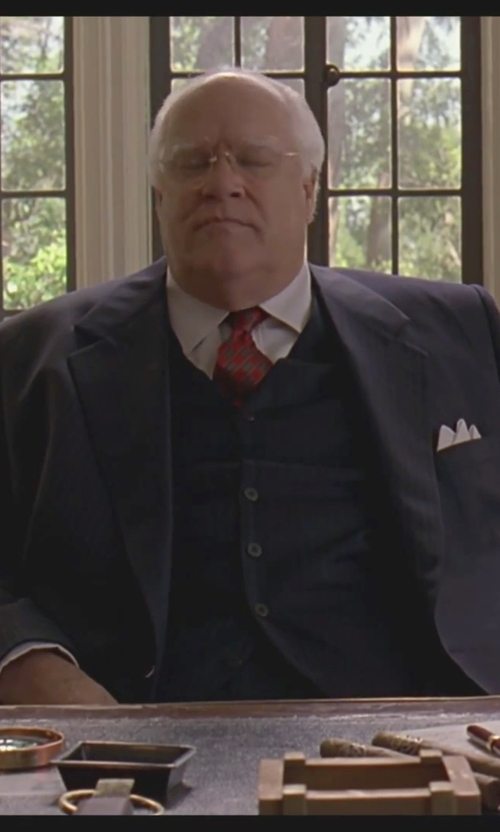 David Huddleston with Brunello Cucinelli White Cotton Shirt in The Big Lebowski