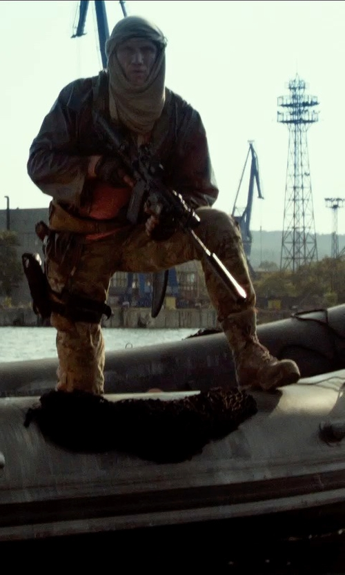 Dolph Lundgren with Reebok Duty Men's Dauntless Soft Toe Combat Boot in The Expendables 3