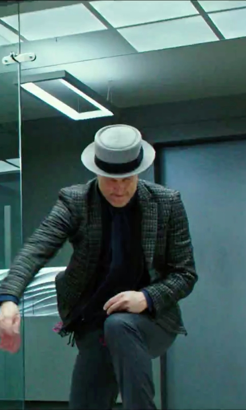 Woody Harrelson with Dobbs Gate Porkpie Hat in Now You See Me 2