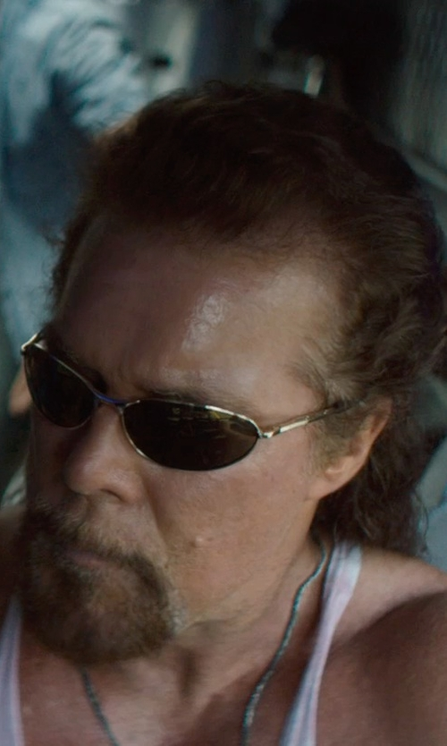 Kevin Nash with Best Amulets Healing Lucky Charm Necklace in Magic Mike XXL