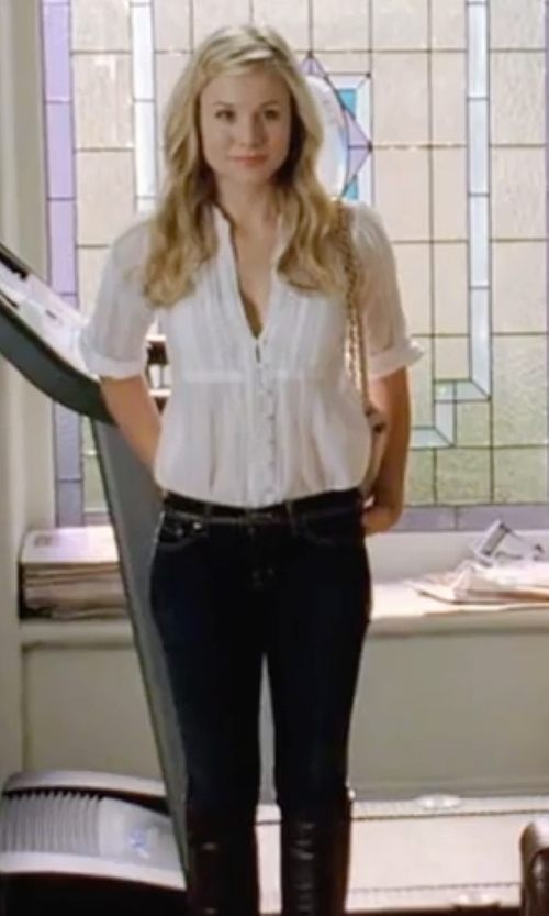 Kristen Bell with 7 For All Mankind Skinny Jeans in Forgetting Sarah Marshall