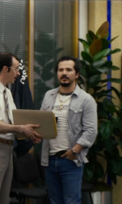 John Leguizamo with Selected Homme Two Pocket Shirt in The Infiltrator