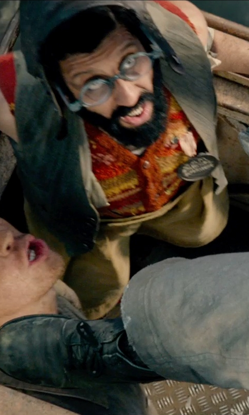 Adeel Akhtar with Pendleton Chief Joseph Drifter Vest in Pan