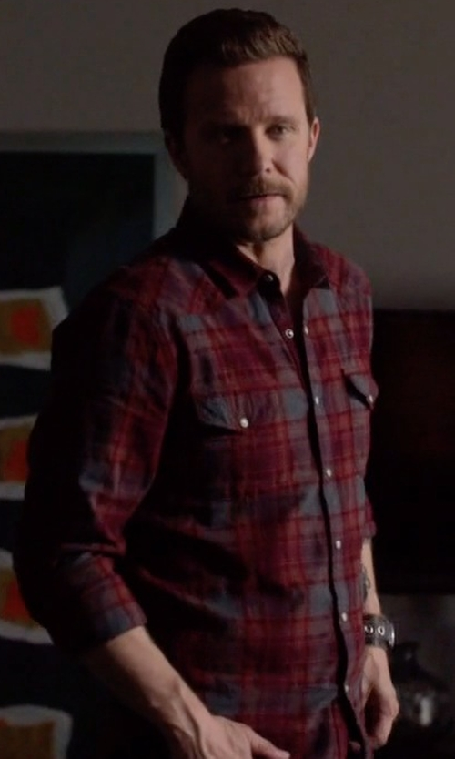 Will Chase with Lucky Brand Catalina Plaid Sportshirt in Nashville