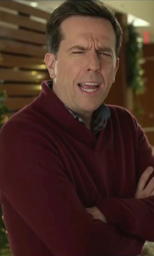 Ed Helms with Henry Cotton's Shirts in Love the Coopers