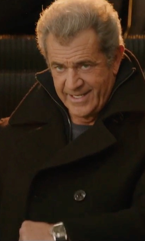 Mel Gibson with Emporio Armani Quartz Cronograph Watch in Daddy's Home 2