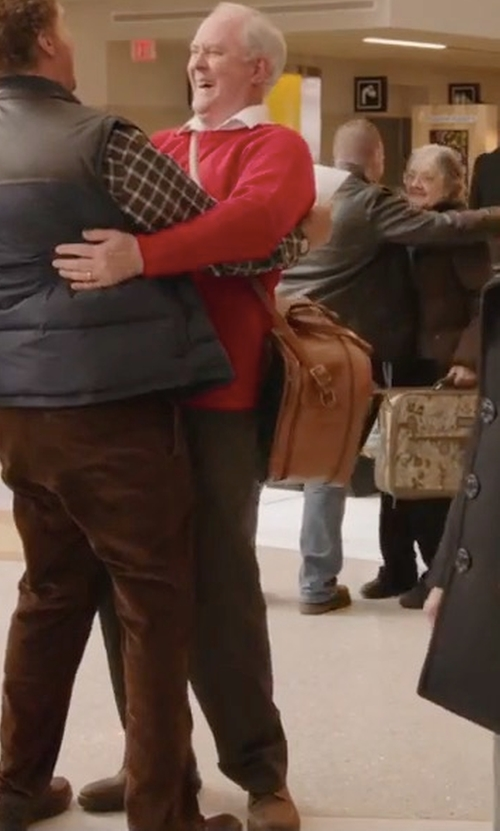 John Lithgow with Florsheim Navigator Plain Toe Oxford Shoes in Daddy's Home 2