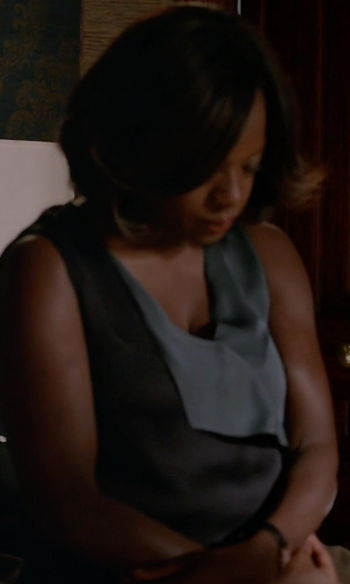 Viola Davis with Marni Sleeveless Top in How To Get Away With Murder