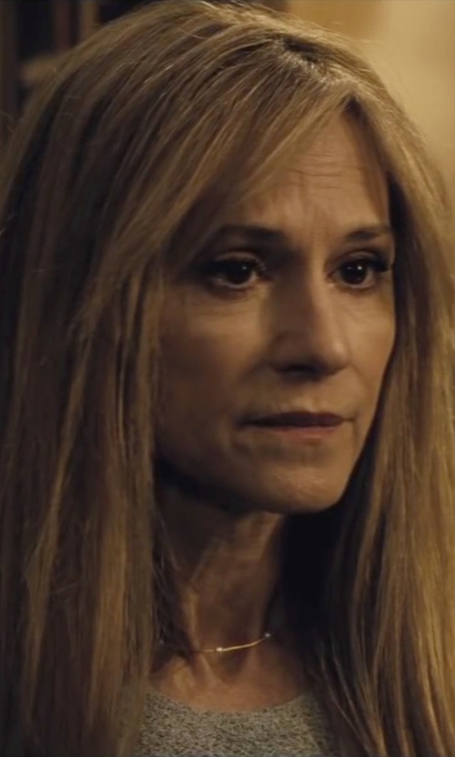 Holly Hunter with Theory Yuranda Faded Wool Blend Blouse in Batman v Superman: Dawn of Justice