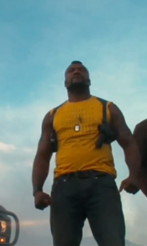 Quinton 'Rampage' Jackson with Icebreaker Aero Tank Top in The A-Team