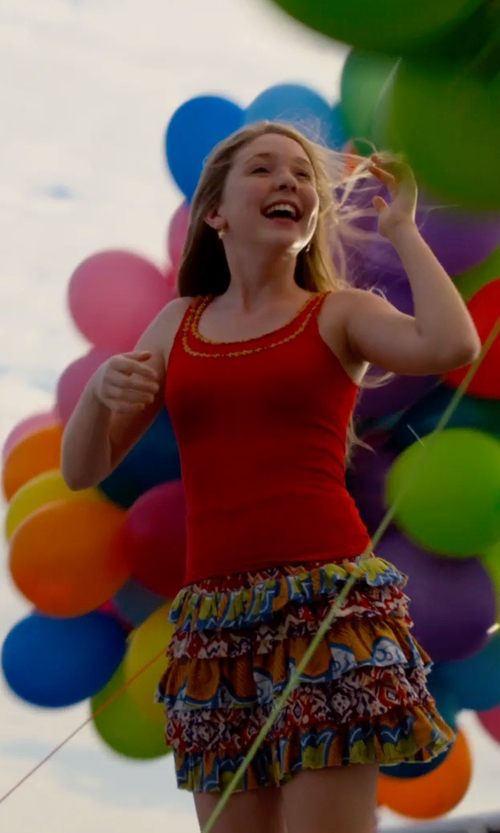 Cozi Zuehlsdorff with Tees By Tina Smooth Tank Top in Dolphin Tale 2