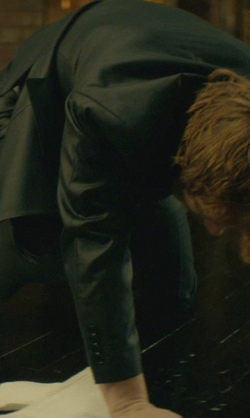 Alfie Allen with Tod's 'Francesina' Cap Toe Oxford Shoes in John Wick