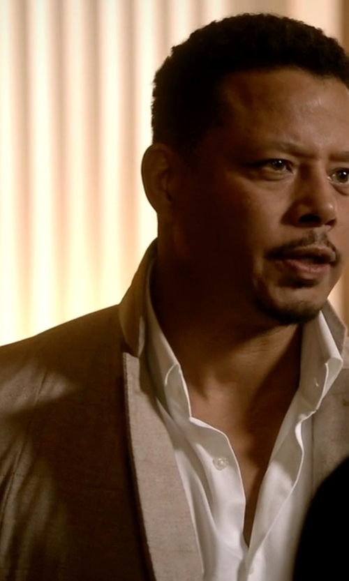 Terrence Howard  with Armani Collezioni Slim Fit Blazer in Empire