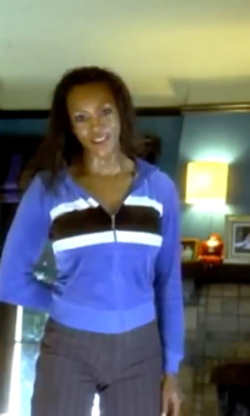 Vivica A. Fox with Patagonia Women's Re Tool Full Zip Hoody Jacket in Kill Bill: Vol. 1