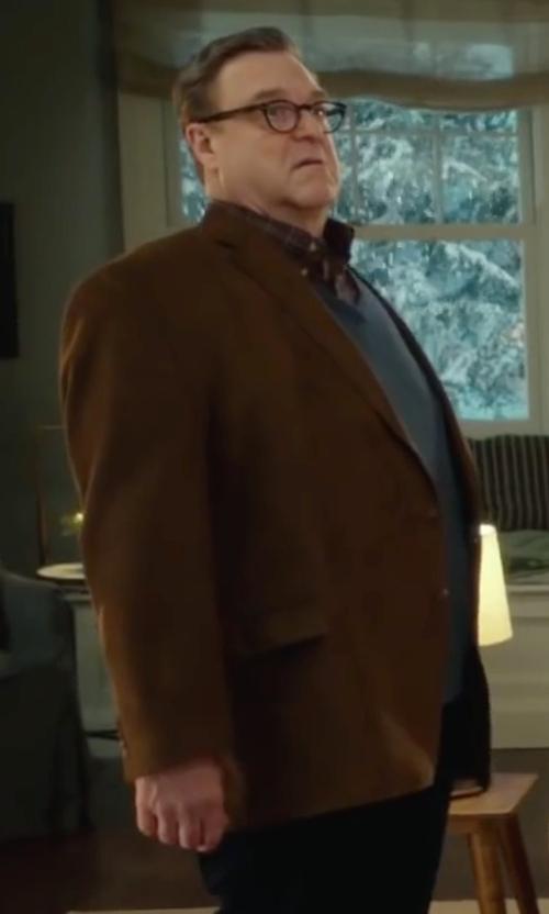 John Goodman with Lauren by Ralph Lauren Mini Corduroy Sport Coat in Love the Coopers