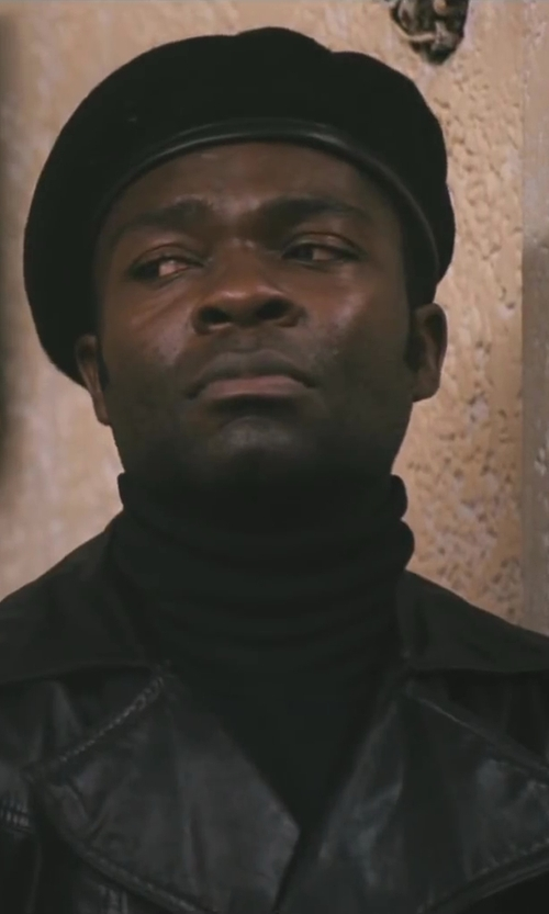 David Oyelowo with Roberto Collina Turtle Neck Sweater in Lee Daniels' The Butler